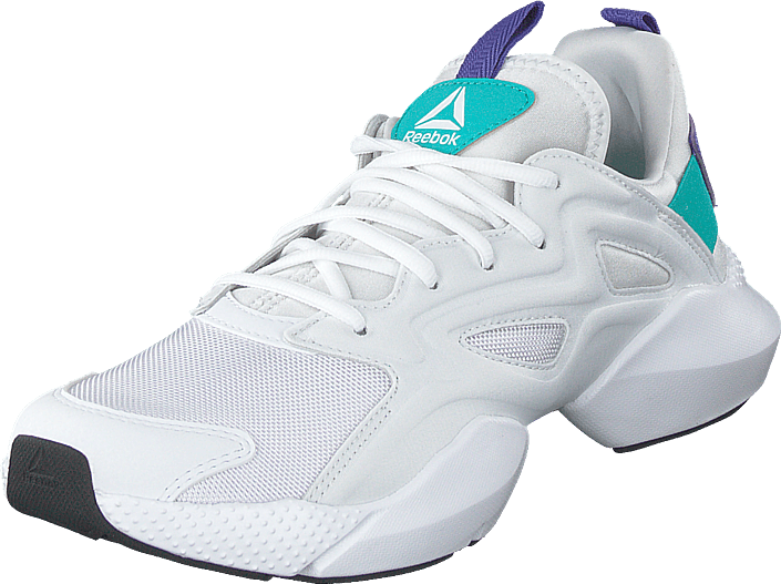 Reebok - Sole Fury Adapt White/solid Teal/ultima Purple