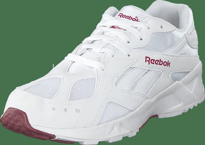 Reebok Classic - Aztrek 93 White/merlot/reflective