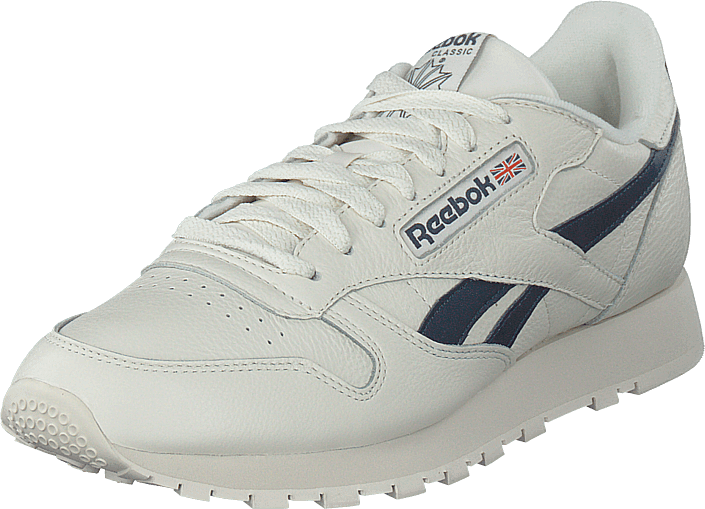 Reebok Classic - Cl Leather Mu Chalk/paperwht/coll Navy