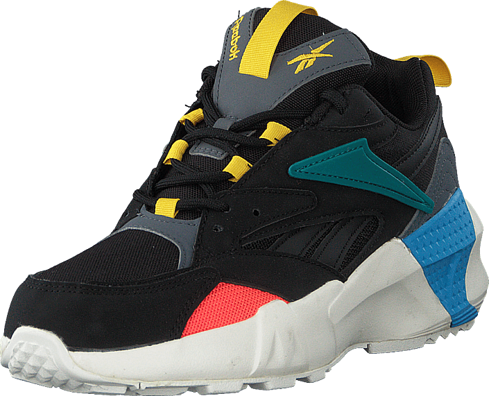 Reebok Classic - Aztrek Double Mix P Black/alloy/teal Gem