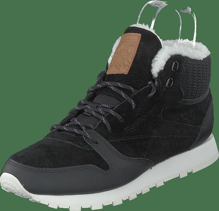 Reebok Classic - Cl Lthr Arctic Boot Black/purple/chalk/brown