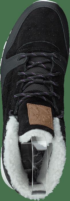 Cl Lthr Arctic Boot Black/purple/chalk/brown