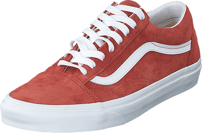 Vans - Ua Old Skool (suede) Brick/true White