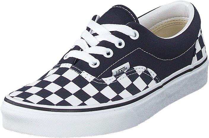 Vans Ua Era (checkerboard) Dark Blue, Skor, Sneakers & Sportskor, Låga sneakers, Blå, Unisex, 41