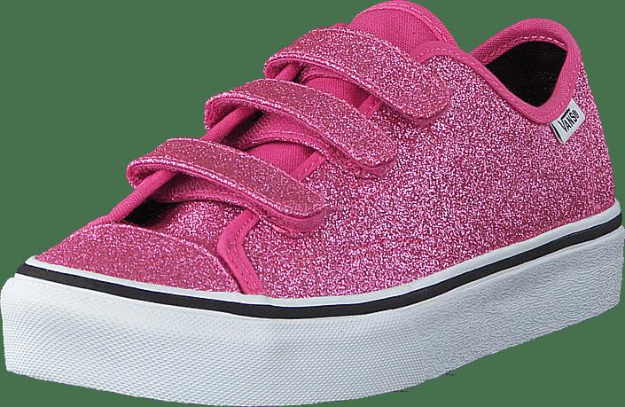 Vans - Uy Style 23 V (glitter) Azalea Pink/ True White