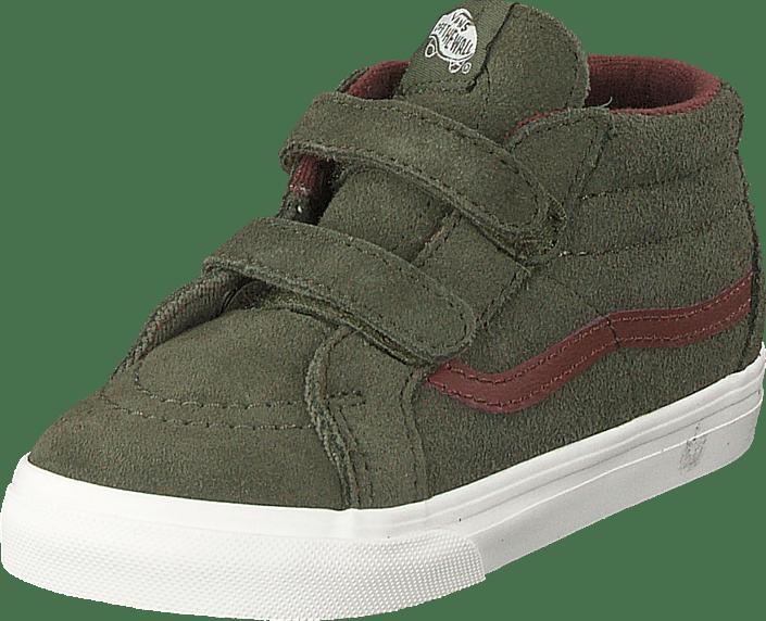 Td Sk8-mid Reissue V (mte) Lichen Green