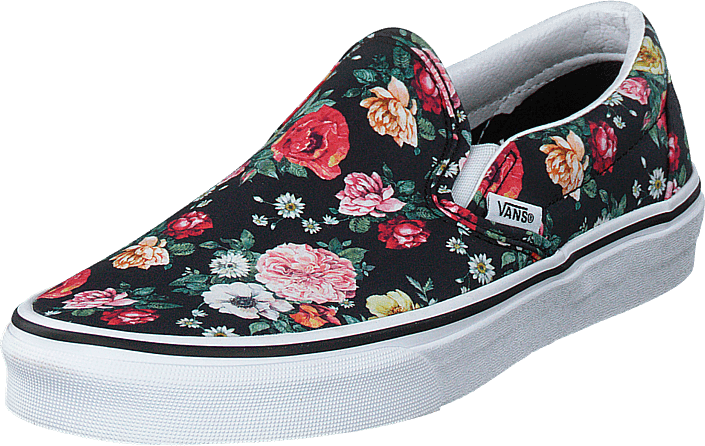 Vans - Ua Classic Slip-on Floral Black