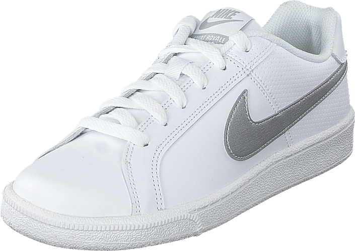 Wmns Court Royale White/metallic Silver