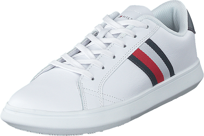 Tommy Hilfiger - Essential Leather Wht/midn