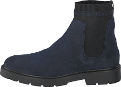 Suede Cleated Chelsea Cki Midnight