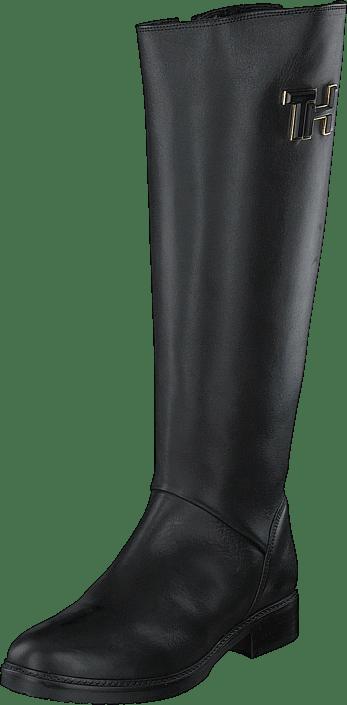 Tommy Hilfiger - Essential Leather Long Black