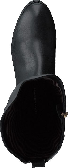 Essential Leather Long Black