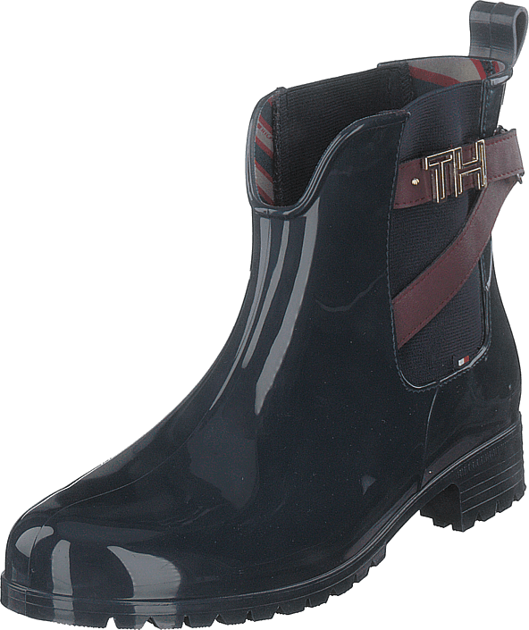 Tommy Hilfiger - Th Hardware Rubber Midnight