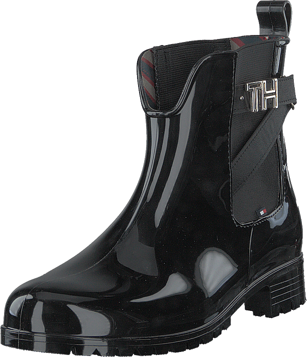 Tommy Hilfiger - Th Hardware Rubber Black
