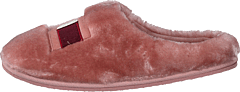 Tommy Womens Fur Slipper Pink