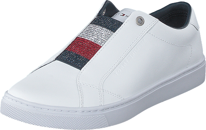 Tommy Hilfiger - Crystal Leather White
