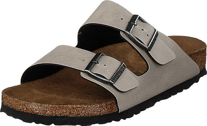 Birkenstock - Arizona Regular Vegan Pull Up Stone