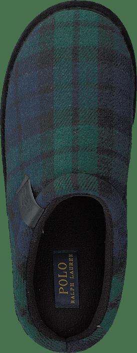 Hommes Chaussures Acheter Polo Ralph Lauren Jacque Scuff Noirwatch Plaid Chaussures Online