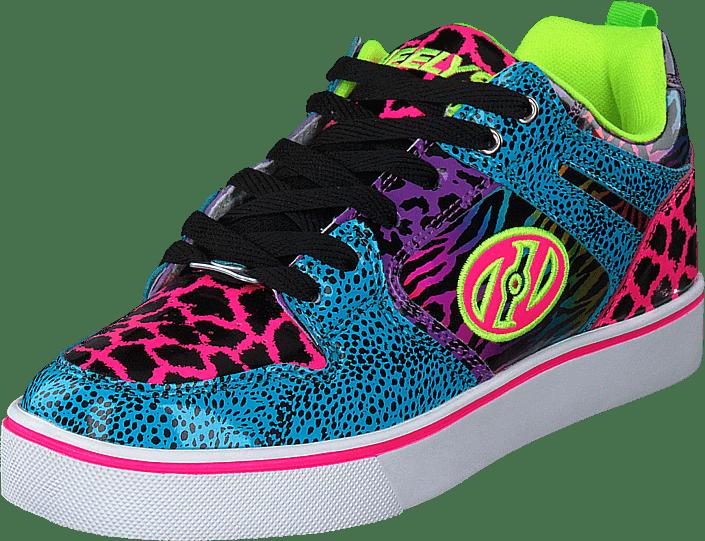 Heelys - Heelys Motion 2.0 Cyan/pink/purple/animal Print