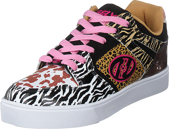 Heelys - Heelys Motion 2.0 White/black/tan/animal Print
