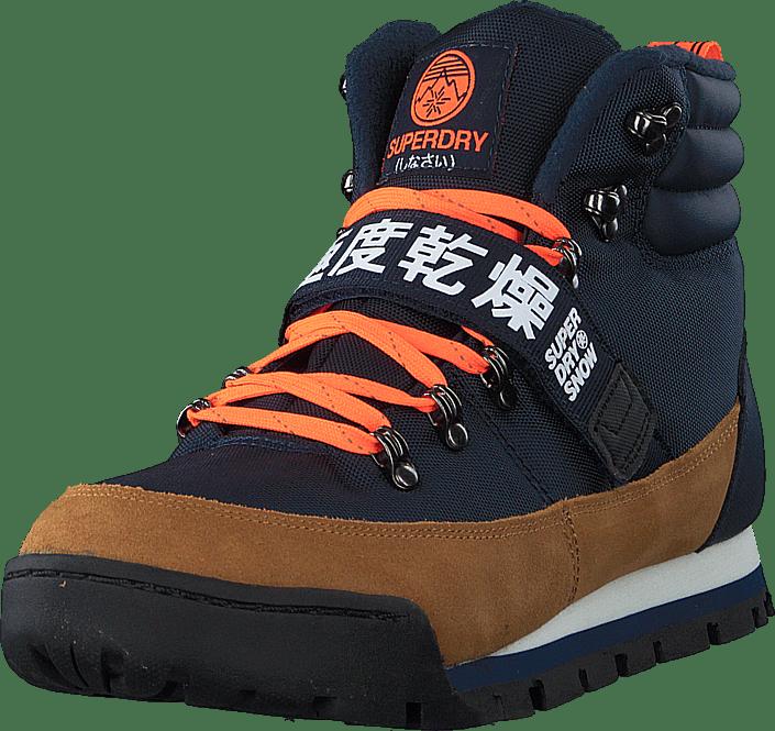 Outlander Snow Boots Navy