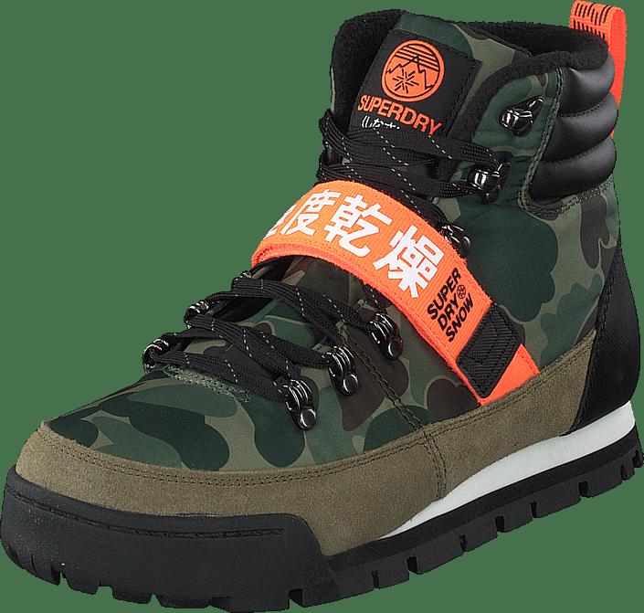 Outlander Snow Boots Camo