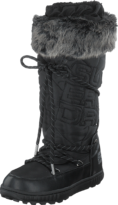 Superdry - Stealth Snow Boots Black