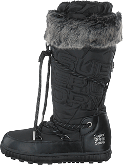 Stealth Snow Boots Black