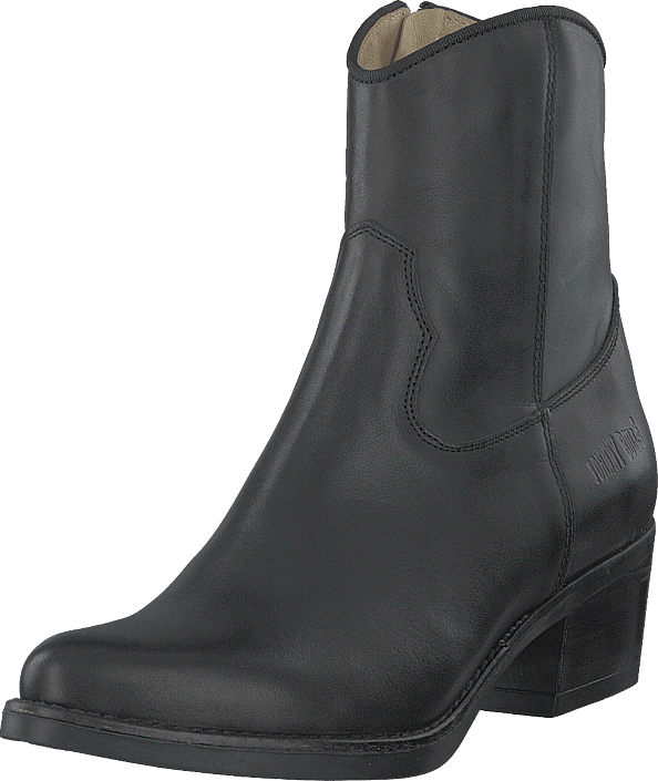 Johnny Bulls - Mid Zip Boot Black