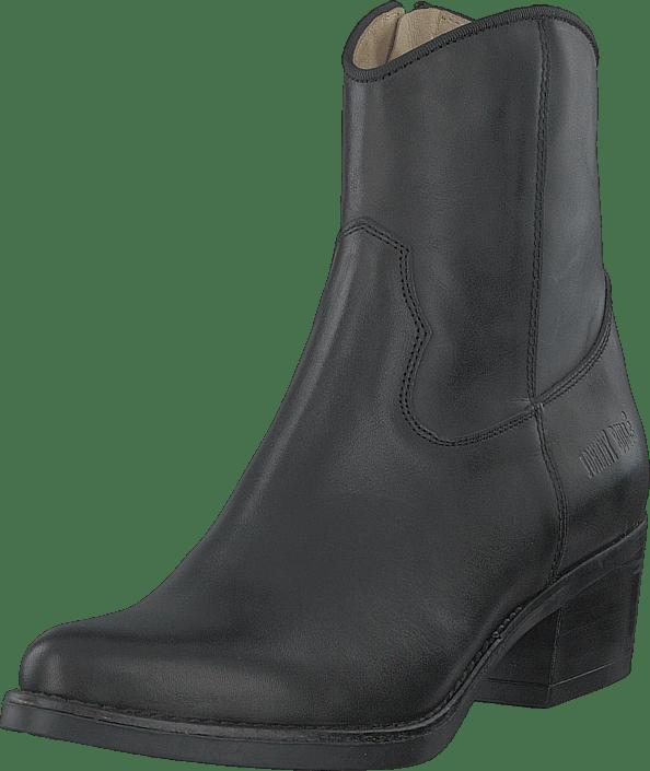 Johnny Bulls - Mid Zip Boot Black