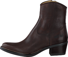 Mid Zip Boot Brown