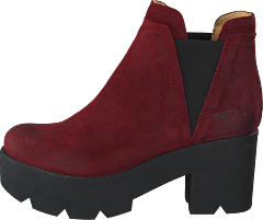 Mid Platform Boot Bordo