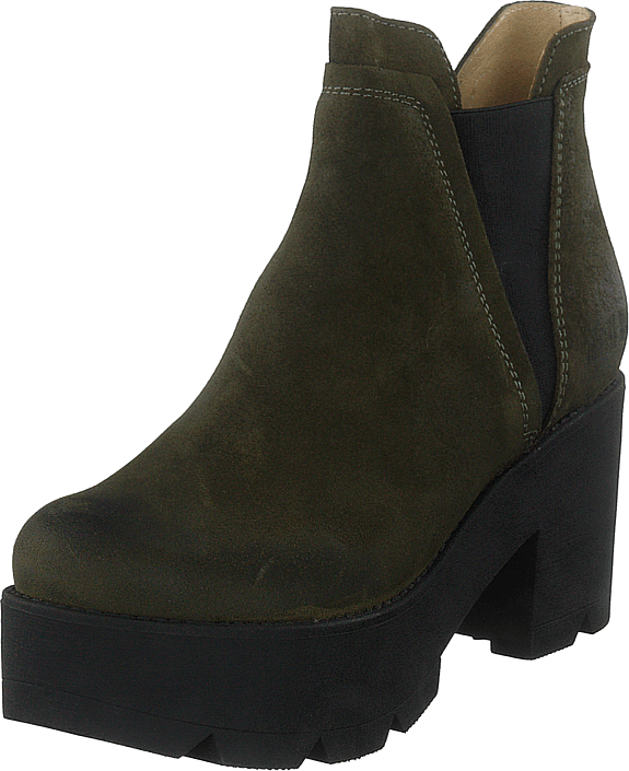 Johnny Bulls - Mid Platform Boot Green