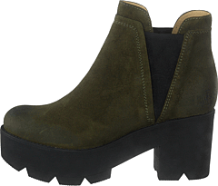 Mid Platform Boot Green