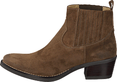 Mid Elastic Boot Taupe