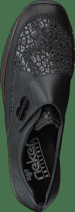 Kjøp Rieker 537c0-00 Schwarz Sko Online