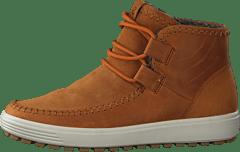 2019 Brune Ecco Soft 7 Tred Mid Boots Dame Online Butikk