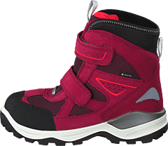 Snow Mountain Black/red Plum
