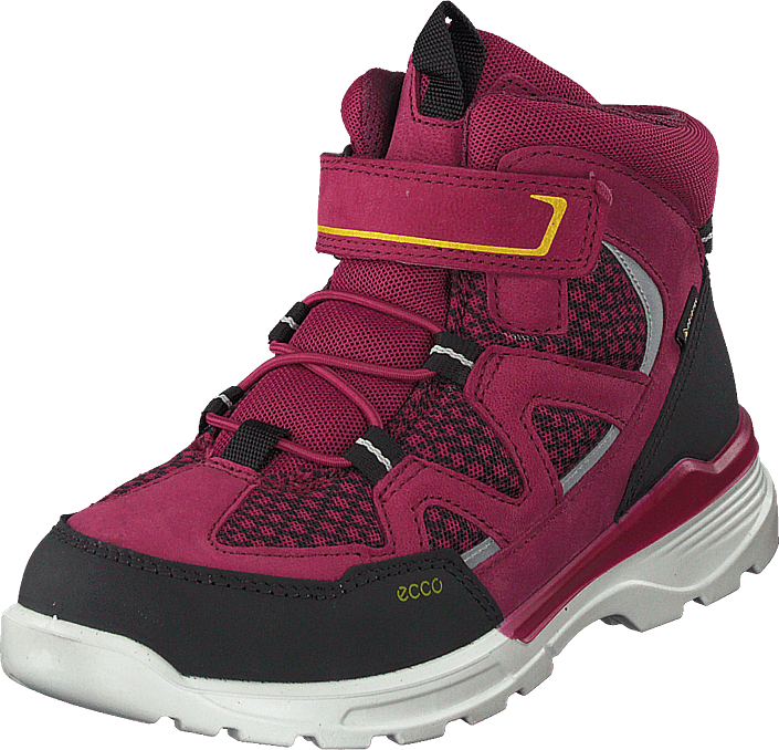 Ecco - Urban Hiker Black/red Plum