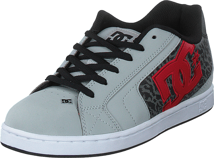DC Shoes - Net Se Grey/red/white