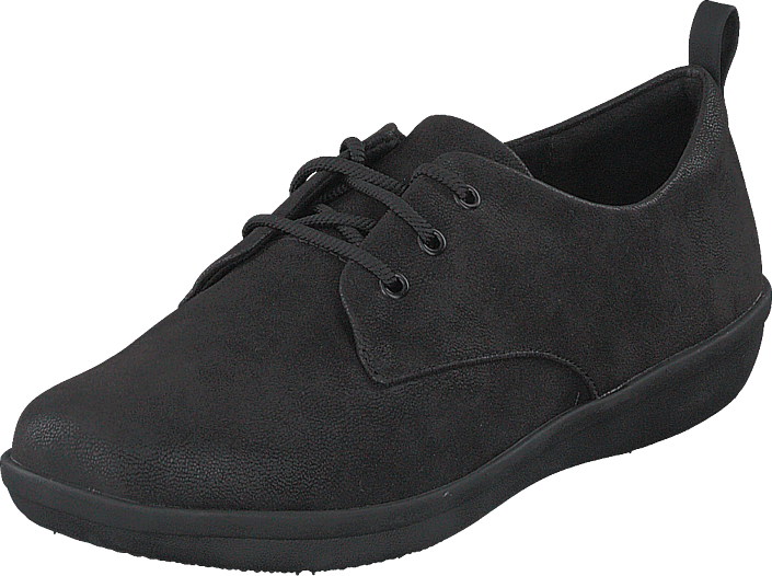 Clarks - Ayla Reece Black Synthetic