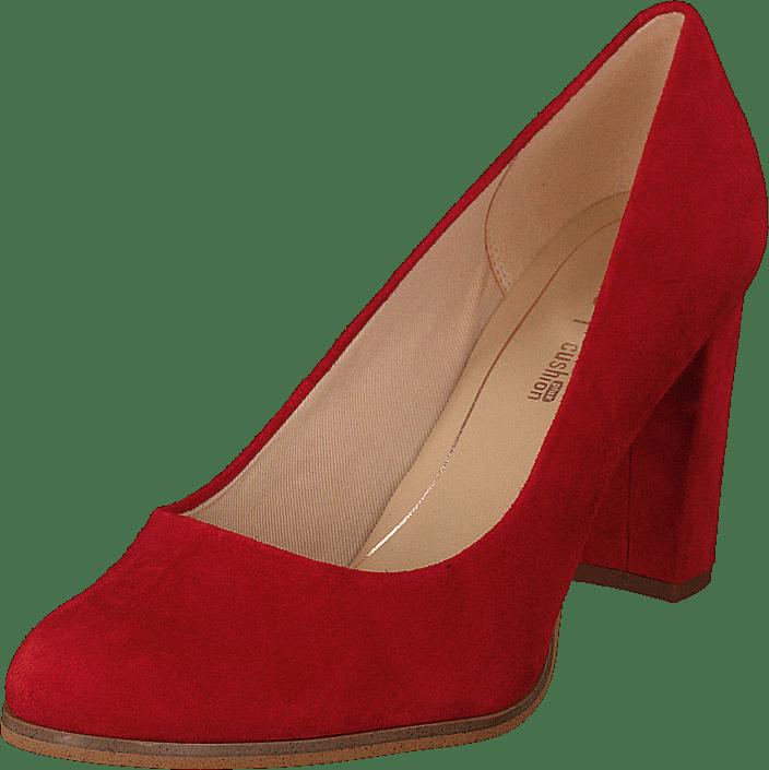 Clarks - Kaylin Cara Red Suede