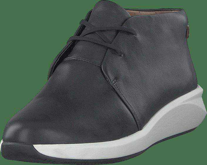Clarks - Un Rio Mid Black Leather