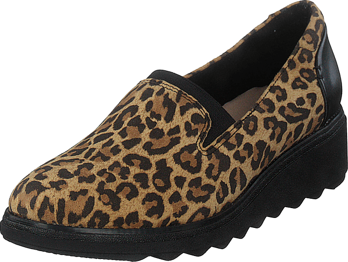 Clarks - Sharon Dolly Leopard Print