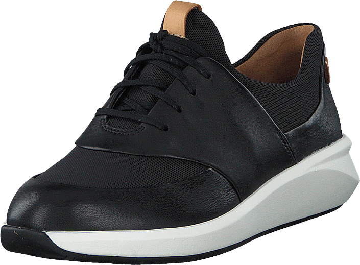 Clarks - Un Rio Lace Black Leather
