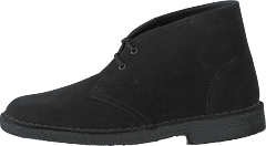 Desert Boot. Black Suede