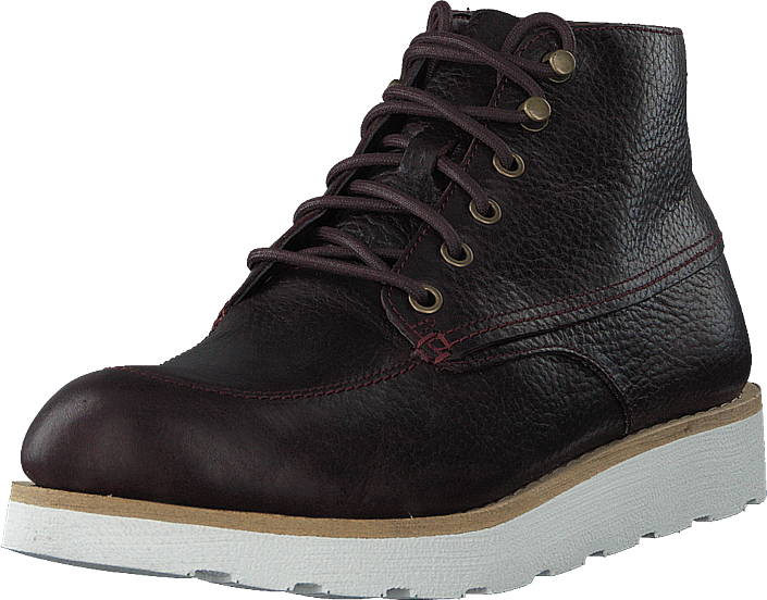 Clarks - Trace Quest Burgundy Leather