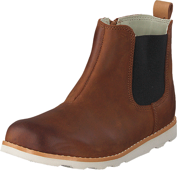 Clarks - Crown Halo T Tan Leather