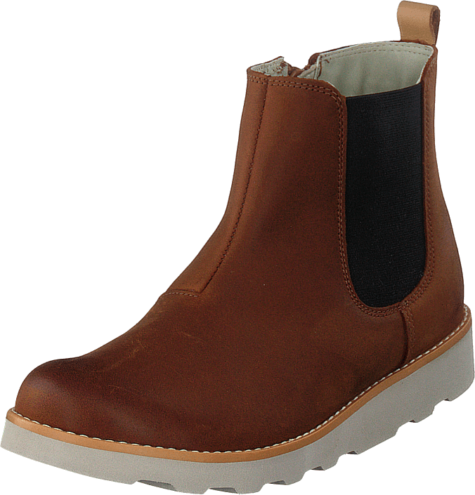 Clarks - Crown Halo K Tan Leather