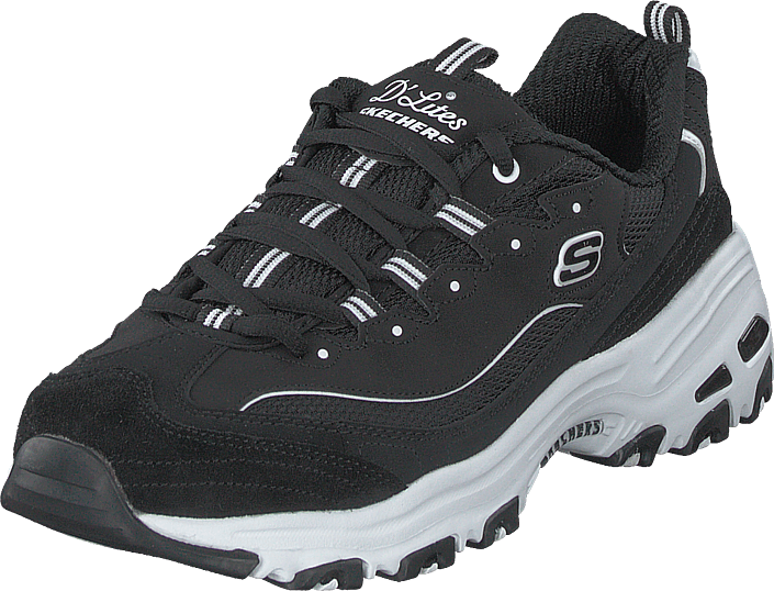 Skechers Wide Fit WIDE FIT D'LITES Joggesko black
